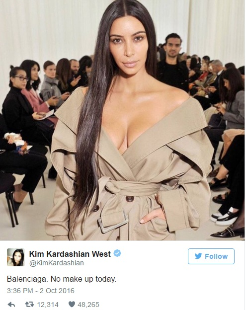 Αντιμέτωπη με τον απόλυτο εφιάλτη η Kim Kardashian! Τη σημάδεψαν με ... fd154589bc7