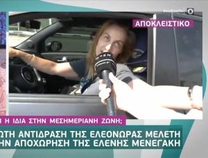 Ελεονώρα Μελέτη: Η απαράδεκτη κίνησή της σε δημοσιογράφο! Δείτε το βίντεο