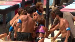 Survivor 4: Οι Μπλε νίκησαν τον αγώνα επάθλου με σκορ 10-3