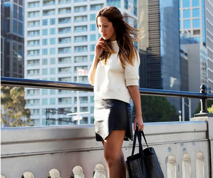 d63552ff6a0f Δερμάτινη φούστα  Το απόλυτο trend - Δες πώς τη φόρεσαν οι celebrities και  πάρε ιδέες... - FASHION NEWS - Youweekly