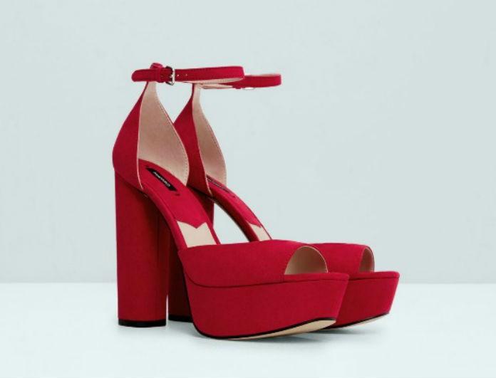 Τα κόκκινα ψηλοτάκουνα πέδιλα είναι το Νο1 καλοκαιρινό φετίχ- Πώς θα τα κάνετε δικά σας με λιγότερα από 20€