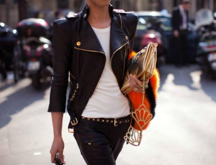 Biker jackets! Βρήκαμε τα ωραιότερα για να επιλέξετε αυτό που σας ταιριάζει e8028e87589
