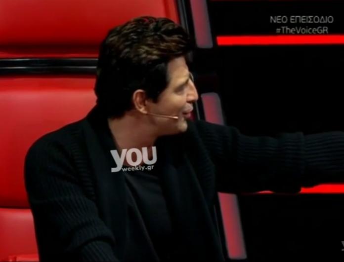The Voice: Έκανε έφοδος η κόρη του Σάκη Ρουβά - Έκλαιγε επειδή δεν πάτησε το κουμπί ο μπαμπάς της σε έναν παίκτη!
