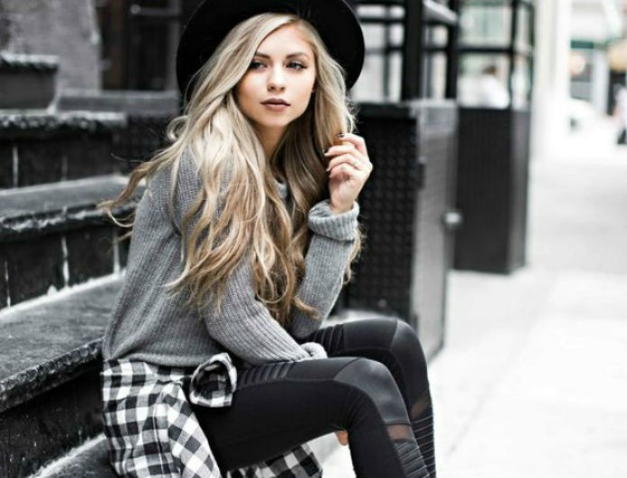 9a93c5469ec9 Οι πιο στιλάτοι τρόποι για να φορέσεις το πουλόβερ σου! Μάθε πως... - STREET  FASHION - Youweekly