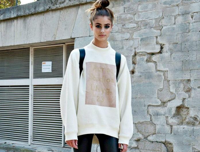 081dd5dff14a Το κολάν είναι το νέο τζιν -Πώς να το φορέσεις σωστά για να μη μοιάζει  φτηνό το ντύσιμο - ΤΙ ΘΑ ΦΟΡΕΣΕΙΣ - Youweekly