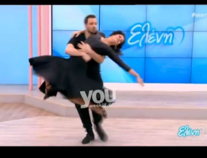 544e374eb77 Ο αισθησιακός χορός της Μαρίας Κορινθίου που έκλεψε τις εντυπώσεις τόσο της  Ελένης Μενεγάκη όσο και των τηλεθεατών! - NEWS - YOU WEEKLY