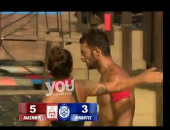 Survivor  Από τις αγκαλιές στα μπινελίκια Αγγελόπουλος με Βαλαβάνη! (Βίντεο) 0d59263618c