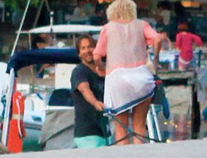 Ξεκίνησαν οι εξορμήσεις για Μενεγάκη - Παντζόπουλο! Που τους έπιασε ο φωτογραφικός φακός με το σκάφος και τα παιδιά τους;