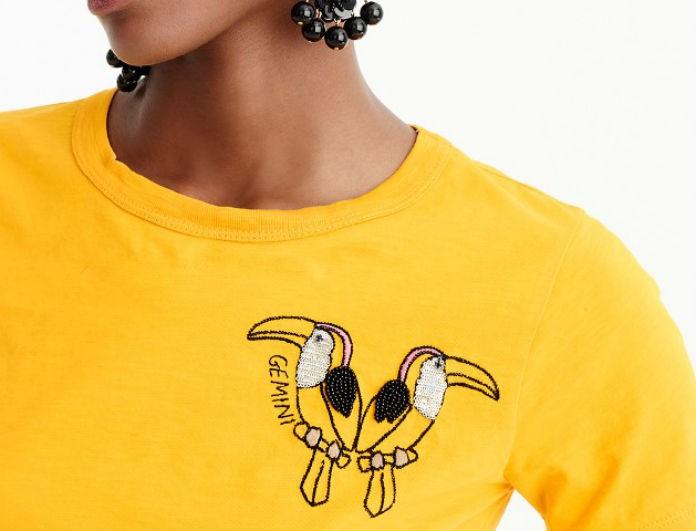 Yπάρχει ένα μπλουζάκι για κάθε ζώδιο σχεδιασμένο από τη J.Crew. Δες το δικό  σου! aed0e9dad00