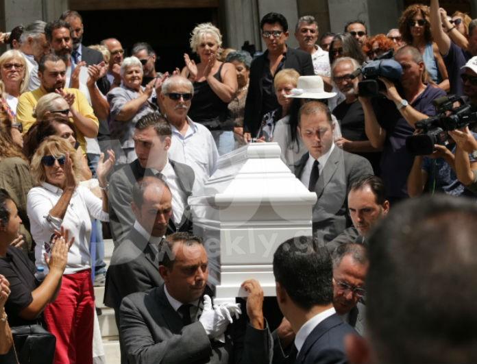 Κηδεία Ζωής Λάσκαρη: