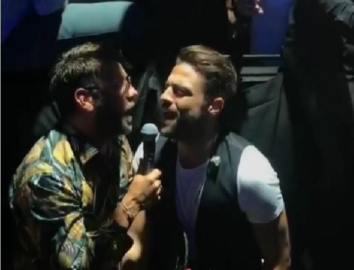 Γιώργος Μαζωνάκης-Κωνσταντίνος Αργυρός: Η συνάντηση τους στο Fantasia και το κοινό τραγούδι!