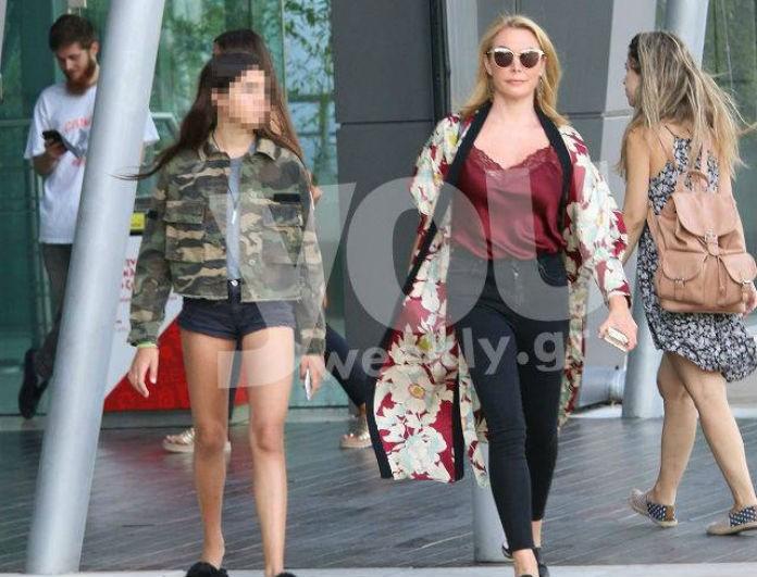 Τατιάνα Στεφανίδου και Λυδία: Like mother, like daughter! 2 Fashion Icons για ψώνια