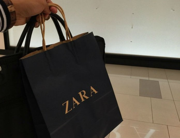 To μαύρο φόρεμα με το πιο ενδιαφέρον κέντημα θα το βρεις στο Zara