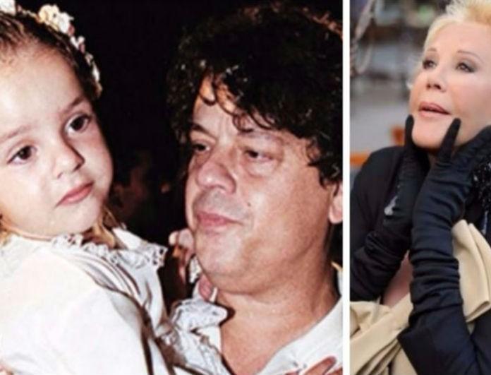 Συντετριμμένη η κόρη του Βλάση Μπονάτσου στον μνημόσυνο της γιαγιάς της, Ζωής Λάσκαρη! Δείτε πόσο μεγάλωσε...