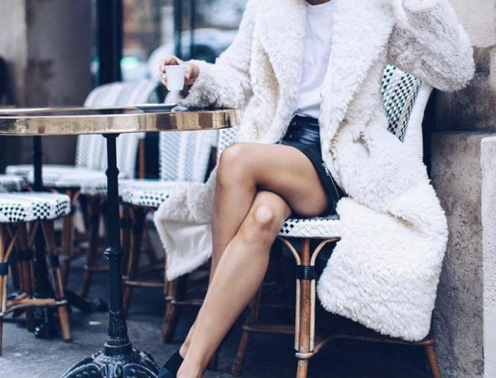 5bb36e385fd Βρήκαμε το ιδανικό λευκό παλτό και κοστίζει λιγότερο από 40 ευρώ ...