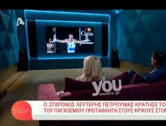 Πρεμιέρα Μενεγάκη: Το απίστευτο πλάνο που δεν έπρεπε να ξεφύγει! Δεν θα πιστεύετε τι είδαμε on air! (βίντεο)