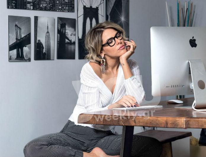 Η Έλενα Γαλυφά ανοίγει για πρώτη φορά το κουκλίστικο σπίτι της στον Άλιμο! Η μοντέρνα διακόσμηση και οι κοριτσίστικες πινελιές (Photos)