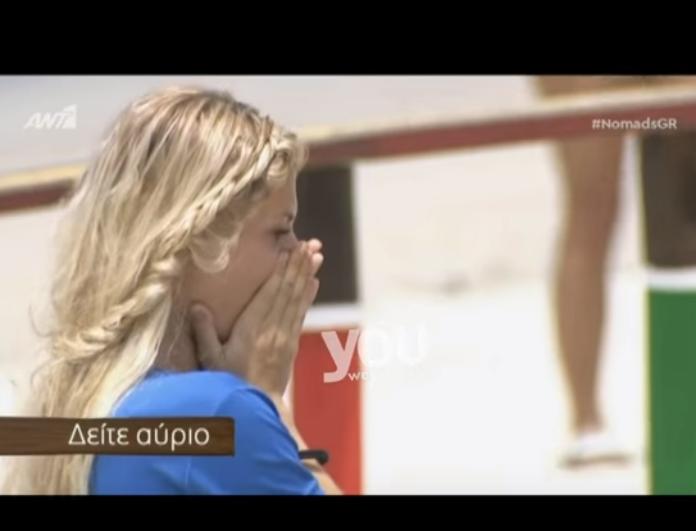 Nomads trailer: Καταρρέει παίκτης μπροστά στις κάμερες! Σε κατάσταση σοκ ο Γρηγόρης Αρναούτογλου! (Βίντεο)