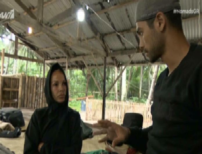 Nomads: Ποιους κατηγόρησε ότι έχουν κάνει τρίο η Νατάσα Καλογρίδη μέσα στο παιχνίδι! (βίντεο)
