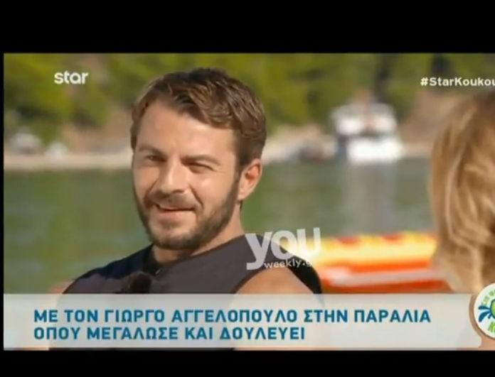 Ο Γιώργος Αγγελόπουλος ξεφτιλίζει τον Χανταμπάκη! Το ψέμα του που αποκάλυψε δημοσίως μετά από τόσο καιρό! (βίντεο)