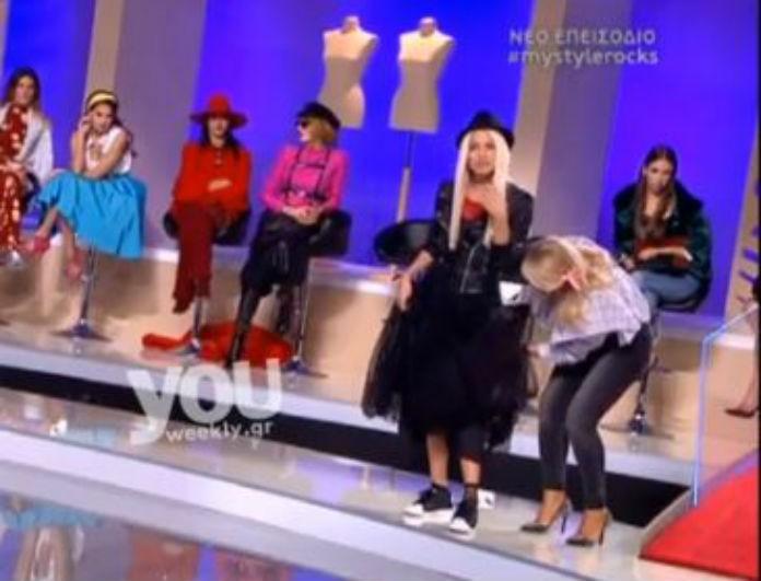 Πανικός στον αέρα του My Style Rocks: Η Κατσαΐτη σηκώθηκε και έγινε το...απίστευτο On air! (Βίντεο)