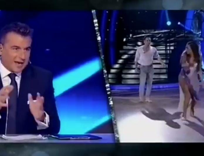 DWTS: Άφωνος ο Γιώργος Λιάγκας με τον χορό της Ευρυδίκης Βαλαβάνη! Οι ατάκες για τον Βασάλο που την έκανε κόκκινη σαν παντζάρι! (Βίντεο)