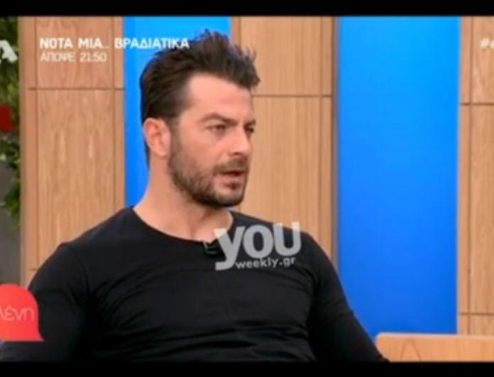 Γιώργος Αγγελόπουλος: Μίλησε ανοιχτά για την Κατερίνα Δαλάκα! Είναι ζευγάρι;