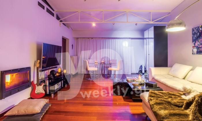 Χριστίνα Κολέτσα: Δείτε για πρώτη φορά το σπίτι της στην Βούλα! Είναι μόλις 70 τετραγωνικά και είναι κουκλίστικο!