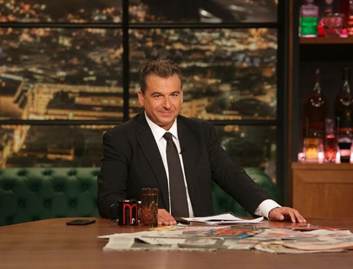 Γιώργος Λιάγκας: Η πρώτη δημόσια εμφάνιση μετά το τέλος του Late Night!