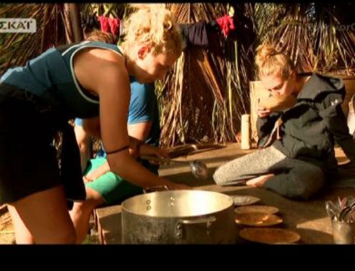 Survivor 2: Η ξινίλα της Δαλάκα στην Σπυροπούλου που δεν πρόσεξε κανείς! Απρεπέστατη! (Βίντεο)