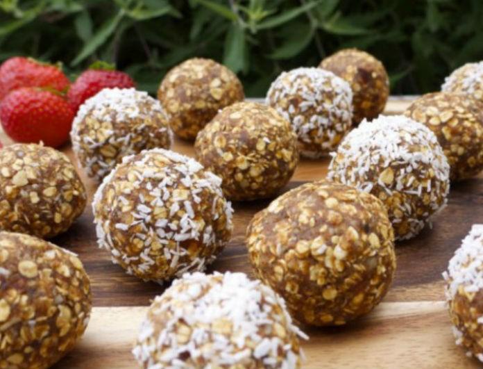 Θες ενέργεια στο λεπτό; φτιάξε γευστικά powerballs με σοκολάτα, κινόα, πασατέμπο και σταφίδες!
