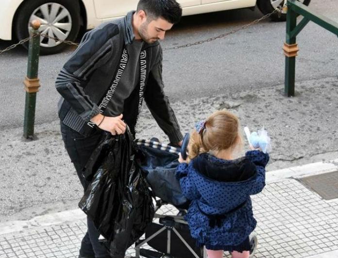 Σε τρελά κέφια ο Γιάννης Τσιμιτσέλης! Πετάει από σήμερα χαρταετό με την κόρη του!