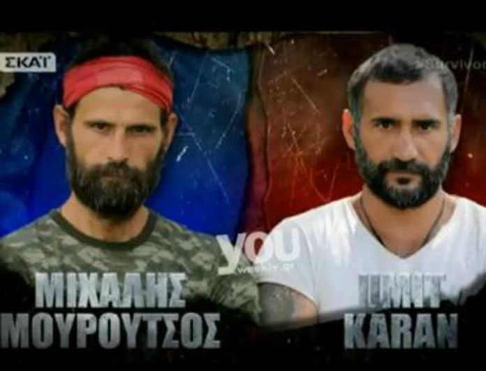 Survivor 2: Η απίστευτη κίνηση του Μουρούτσο στον Τούρκο παίκτη! Τον αιφνιδίασε...(Βίντεο)