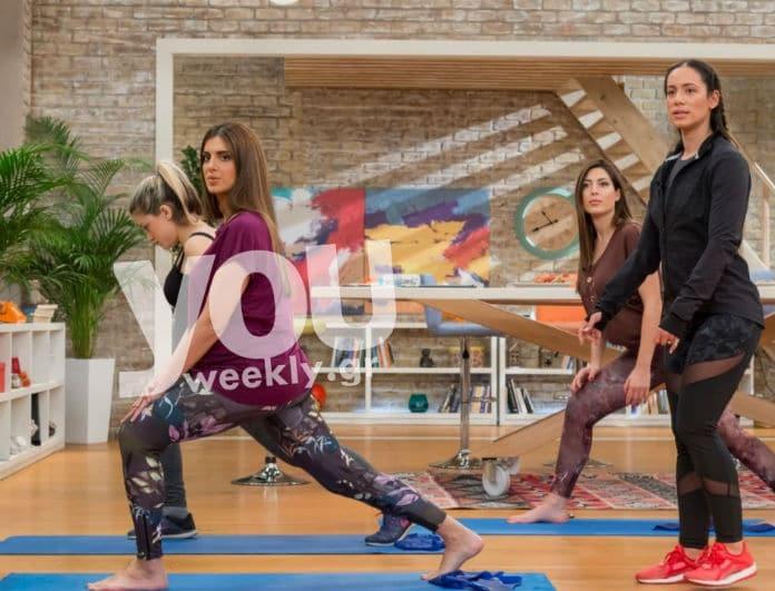 Η γυμναστική που κάνει η Σταματίνα Τσιμτσιλή στην εγκυμοσύνη της!