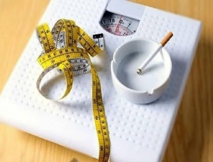 Κόβεις το τσιγάρο μαχαίρι; Δες τι πρέπει να κάνεις για να μην πάρεις κιλά!
