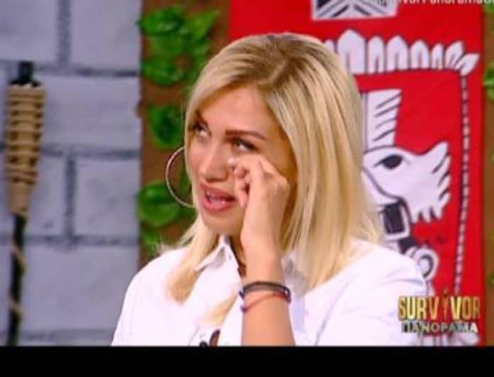 Λύγισε η Σπυροπούλου στον αέρα της εκπομπής! Η εικόνα που την έφερε εκτός εαυτού!