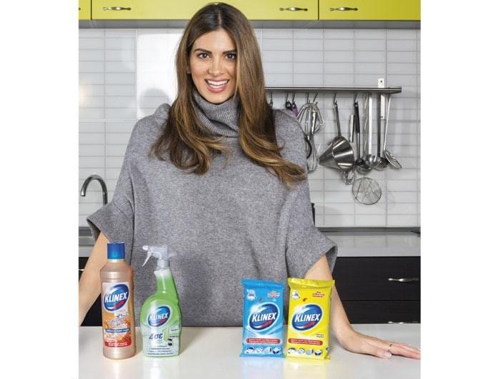 «Η καθαριότητα είναι η μισή αρχοντιά! Η άλλη μισή είναι η Klinex...» Από την Σταματίνα Τσιμτσιλή!