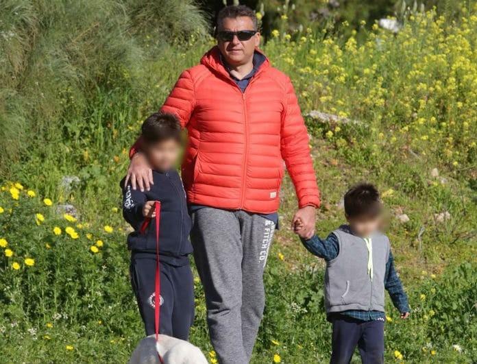 Γιορτή για τον Γιώργο Λιάγκα! Οι τρυφερές ευχές από τους γιους του!