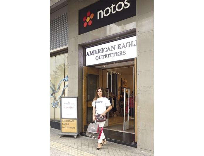Όταν το καλοκαίρι έρχεται, τι καλύτερο από μια βόλτα στα πολυκαταστήματα notos για summer shopping!