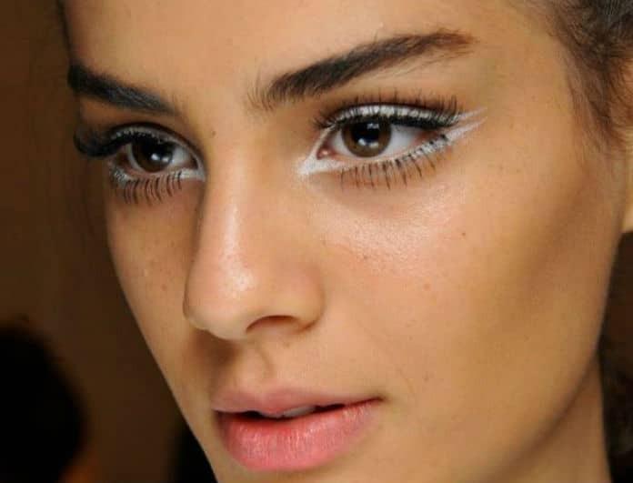 White eyeliner: Αυτό είναι το make up trend του καλοκαιριού! Πως θα αποκτήσεις ένα ξεκούραστο βλέμμα στην στιγμή!