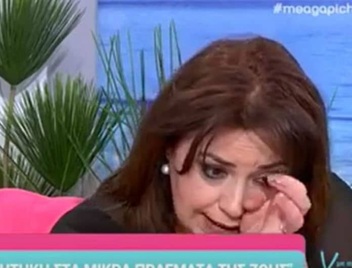 Μαρία Φιλίππου: Ξέσπασε σε κλάματα μιλώντας για τον πατέρα της: