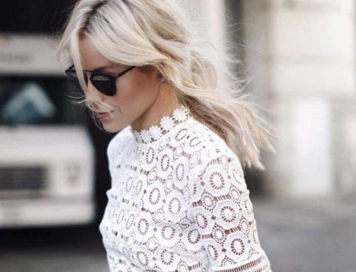 Crochet τοπ: Πως να το βάλεις σωστά για να μην φαίνεται ότι φοράς... το σεμεδάκι της γιαγιάς σου!