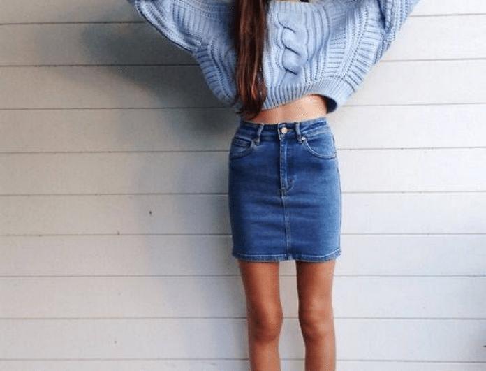 Ο καλύτερος τρόπος για να φορέσεις την αγαπημένη σου τζιν φούστα!