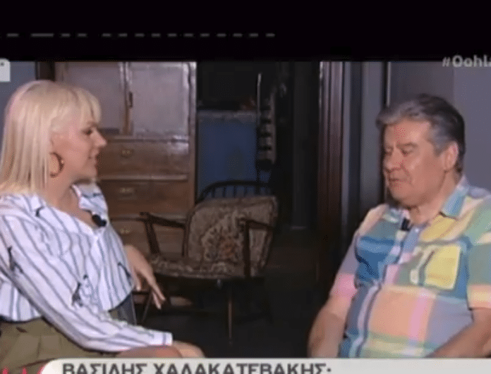 Βασίλης Χαλακατεβάκης: Συγκλονίζουν τα λόγια του ηθοποιού!Το άγνωστο πρόβλημα υγείας και η μάχη με τον καρκίνο