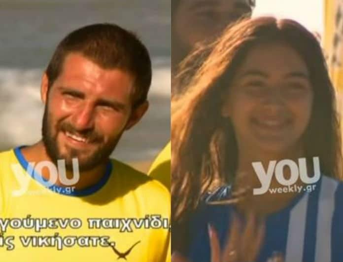 Survivor 2: Φωτογραφία ντοκουμέντο! Η Ροδάνθη αγκαλιά με τον Ρουμάνο όταν τελείωσε το αγώνισμα!