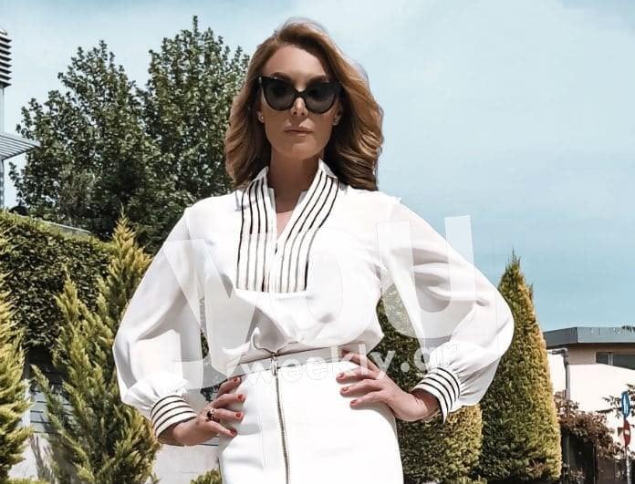 Το οικονομικό σύνολο της Τατιάνας Στεφανίδου από τα Zara που πρέπει να αντιγράψεις! Κοστίζει μόνο...