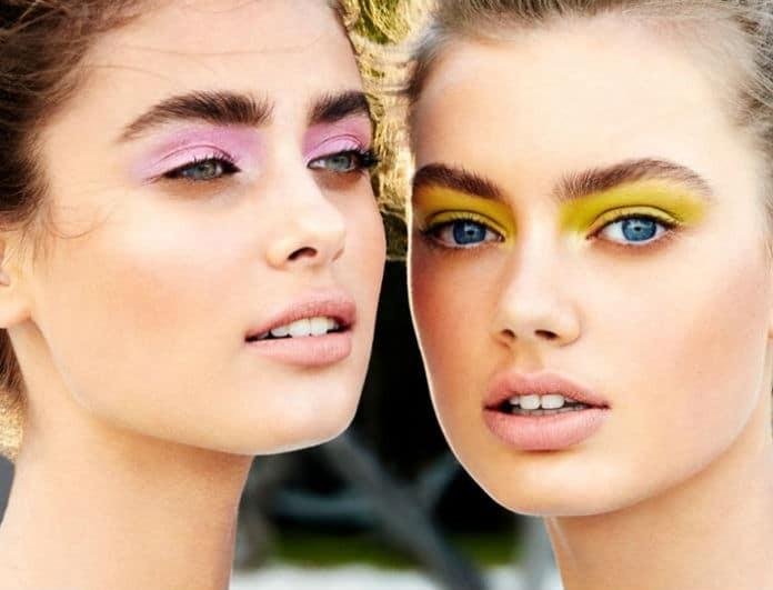 Υellow or Pink; Αυτό είναι το νέο make up trend που σαρώνει στο εξωτερικό! Πως θα πετύχεις το καλοκαιρινό smokey eye!