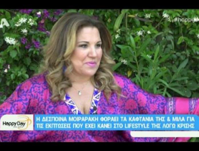 Δέσποινα Μοιραράκη: Αποκαλύπτει όλο το παρασκήνιο πίσω από το ιστορικό της μεθύσι! (Βίντεο)