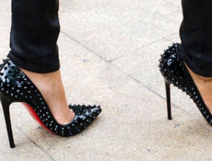 Christian Louboutin: Κανονικά και με τον νόμο θα φέρει την κόκκινη σόλα στα παπούτσια  του!