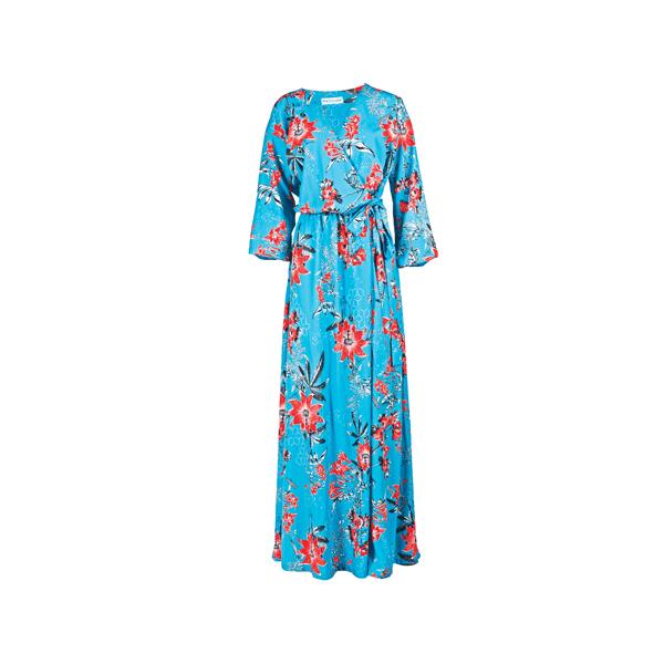 37ba23368f26 Φόρεσε το floral φόρεμα όπως η Κατερίνα Καραβάτου! Δες πως να ...
